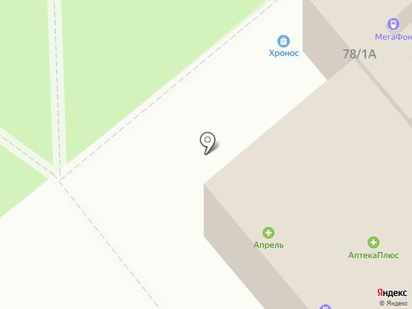 Роспечать на карте Динской