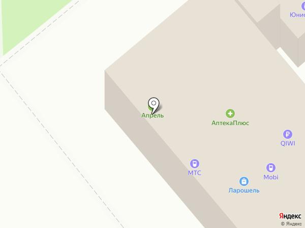 Выбражуля на карте Динской