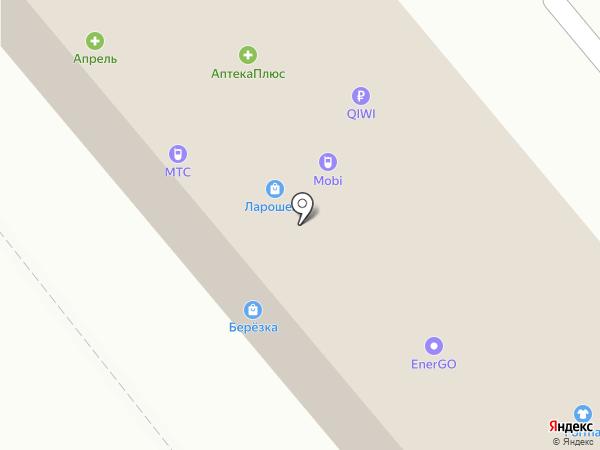 Ажур на карте Динской