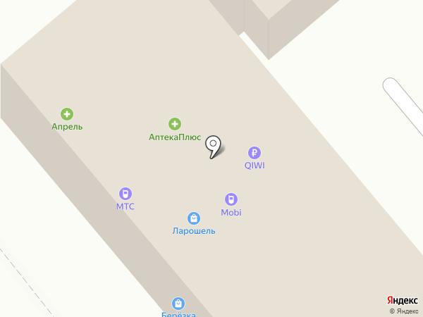 Кедр на карте Динской