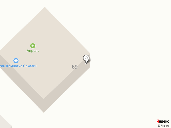 Апрель на карте Динской