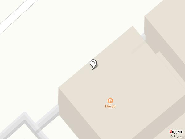 Пегас на карте Динской