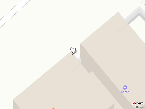Гостиница на карте Динской