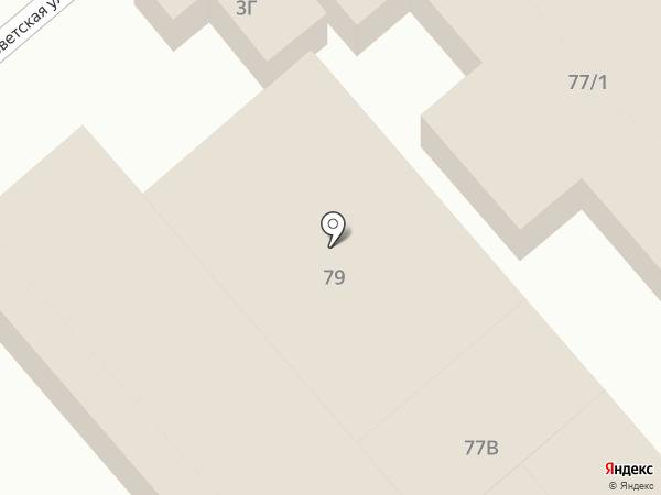 Магазин декоративной косметики на карте Динской