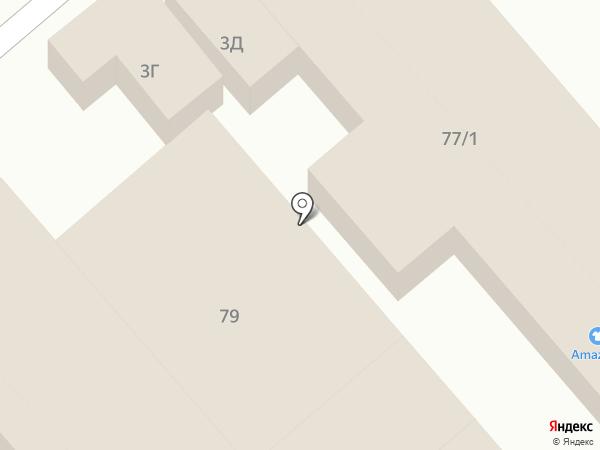 Шарм на карте Динской
