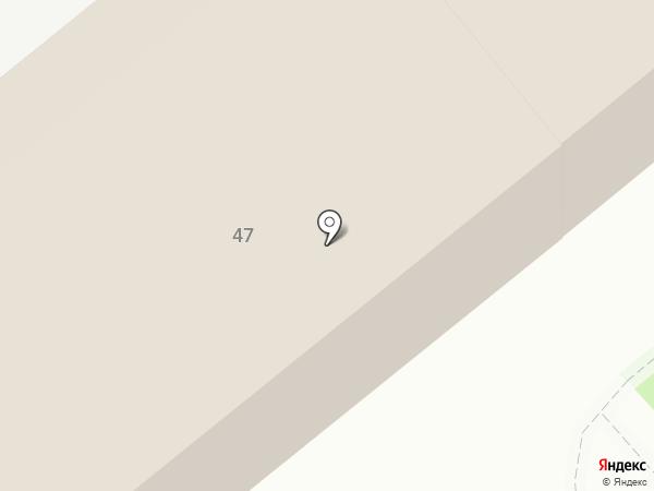 Почтовое отделение связи 4 на карте Динской