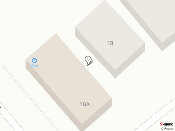 Краснодарзооветснаб, ЗАО на карте Динской