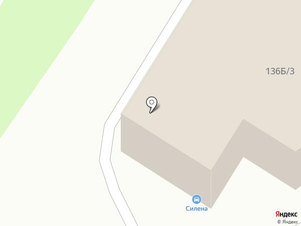 Автомультисервис на карте Воронежа