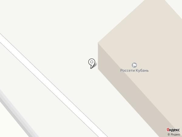Кубаньэнерго, ПАО на карте Динской