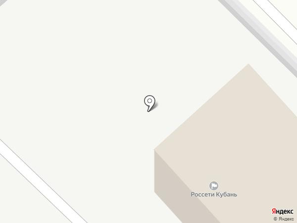 Кубаньэнерго на карте Динской