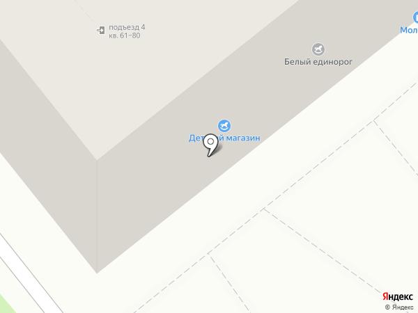 Детский на карте Воронежа