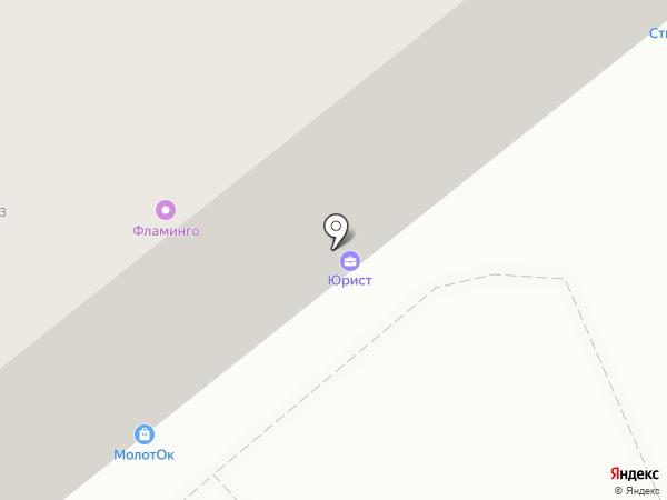 Юридическая компания на карте Воронежа