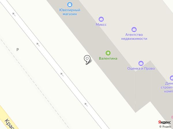 Эгоистка на карте Динской