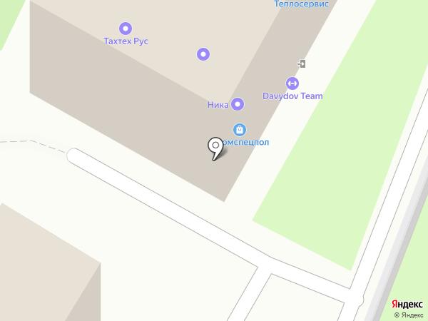 Лиса на карте Воронежа