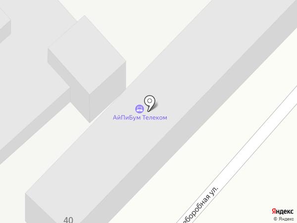 Баранов Д.В. на карте Динской