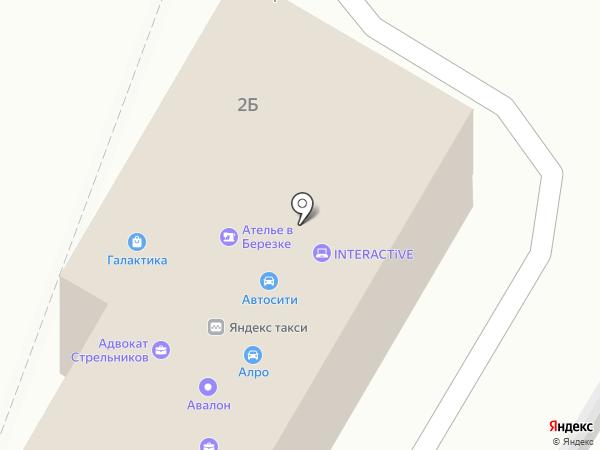 Велес-Авто на карте Воронежа