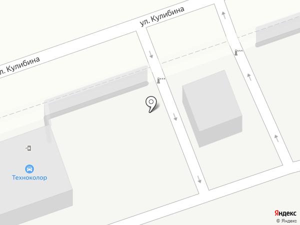 Техноколор на карте Воронежа