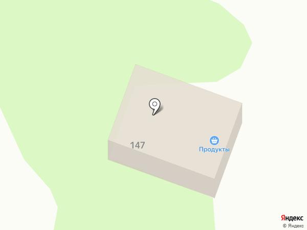 Заречный на карте Динской