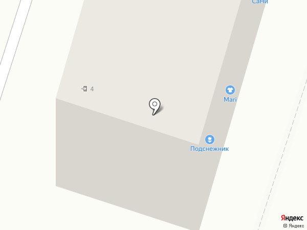 Мари pluse на карте Воронежа