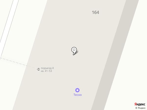 Зеленый атлас на карте Воронежа