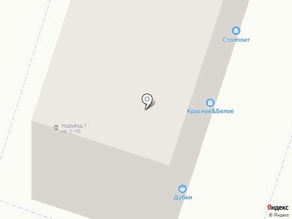 Ермолино на карте Воронежа