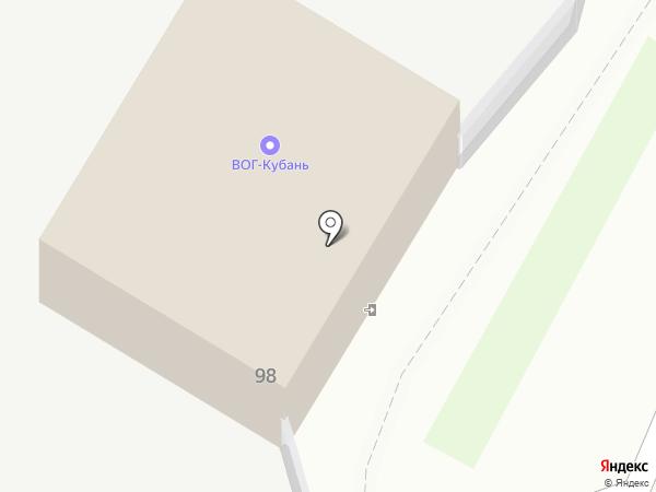 Вог-Кубань на карте Динской