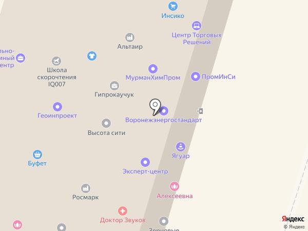KompPrint на карте Воронежа