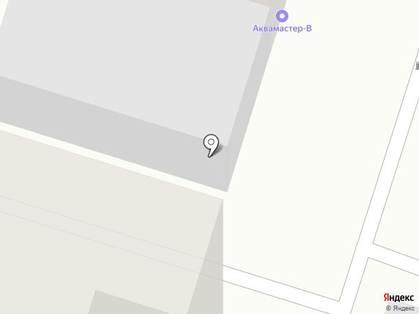 Аквамастер-В на карте Воронежа