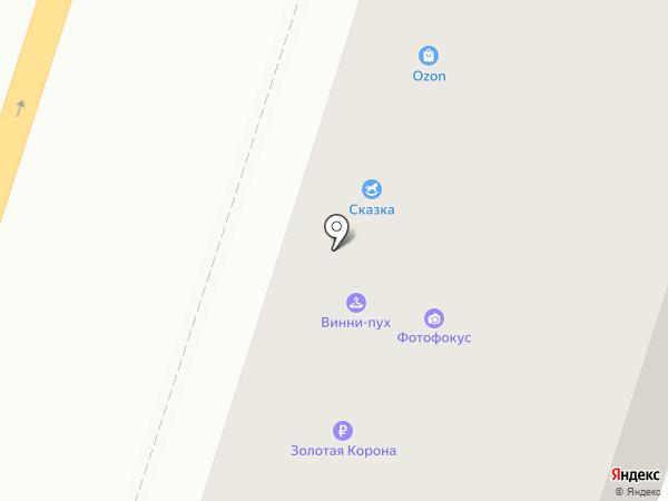 Белый Амур на карте Воронежа