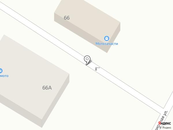 Магазин мототехники на карте Динской