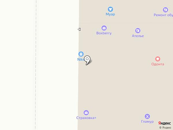 Золушка на карте Воронежа