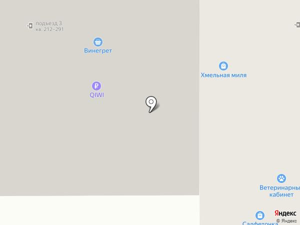 Винегрет на карте Воронежа