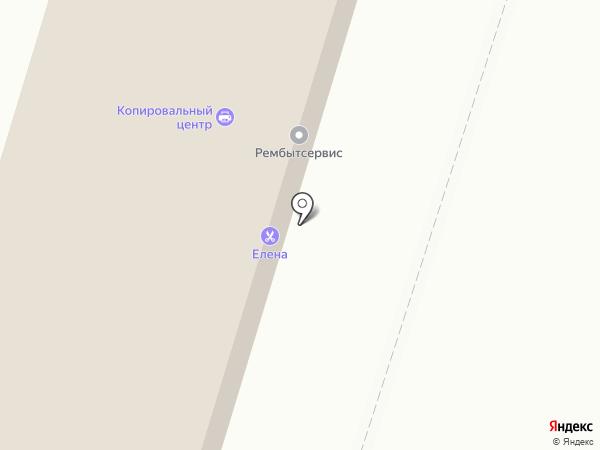 Копировальный центр на карте Воронежа