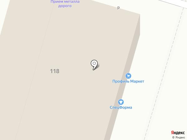 Бюро переводов на карте Воронежа
