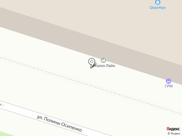 Вид на карте Воронежа