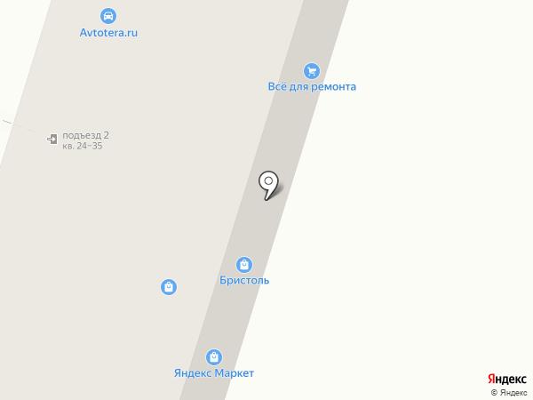 Веранж на карте Воронежа