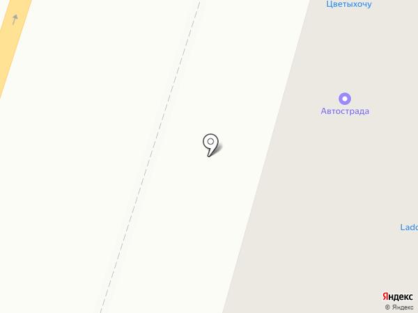 Superокна на карте Воронежа