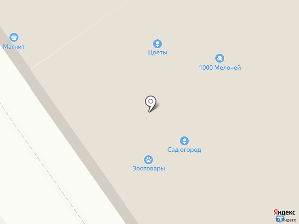 ТЭКТ на карте Динской