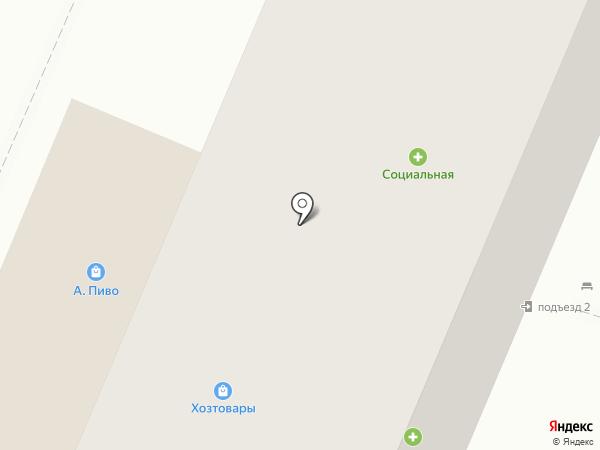 Кружка на карте Воронежа