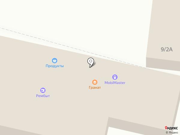 Горячий на карте Воронежа
