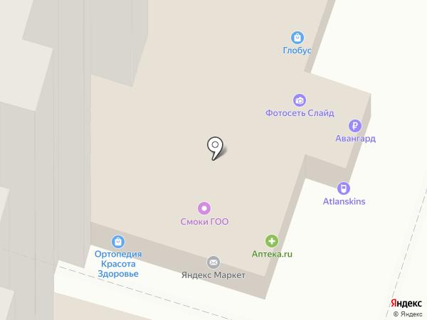 Кенгуру на карте Воронежа