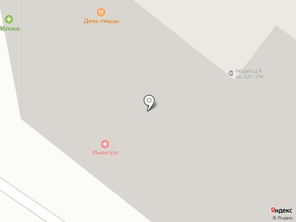 День пиццы на карте Воронежа