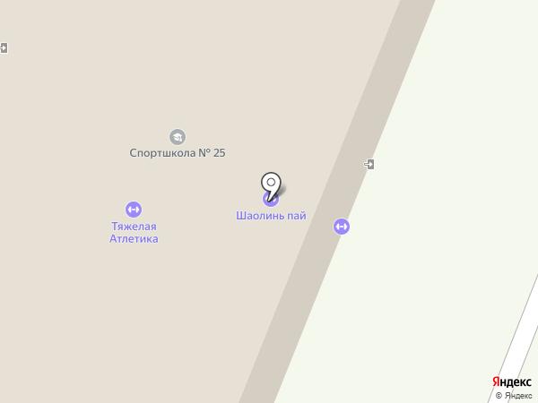 Центр шаолиньского ушу и цигун Ши Дэцяня на карте Воронежа