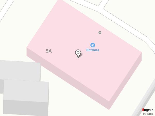 ВетЛига на карте Воронежа