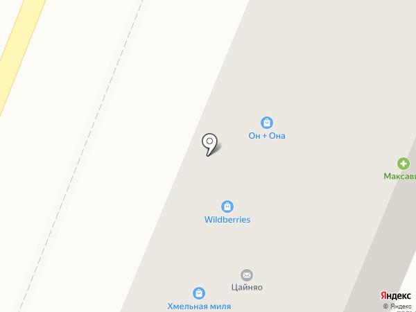 Он и Она на карте Воронежа