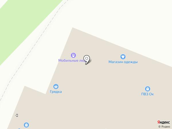 Мобильные люди на карте Воронежа