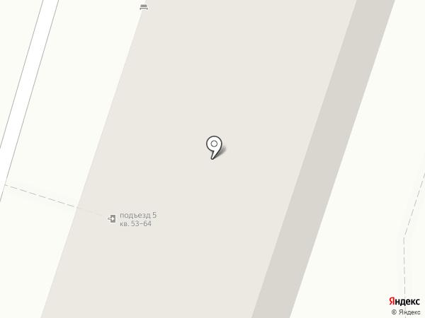 Поликлиника №14 на карте Воронежа
