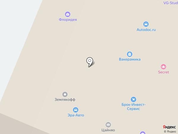 ЭЛСО-база на карте Воронежа