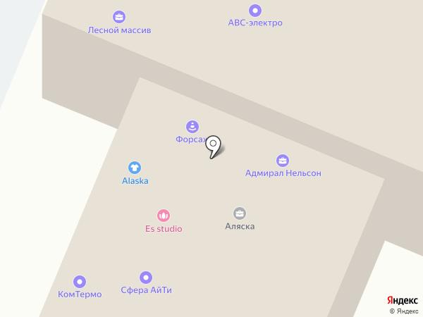 Стоматология Сударевой на карте Воронежа