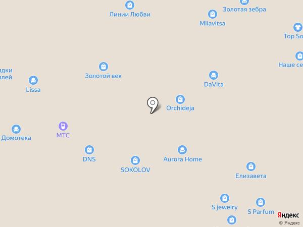 Mia кухни на карте Воронежа